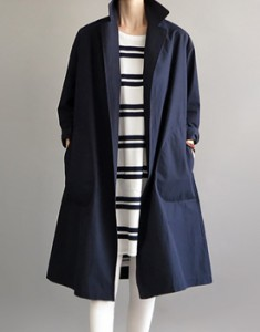 Frorent long coat -3c