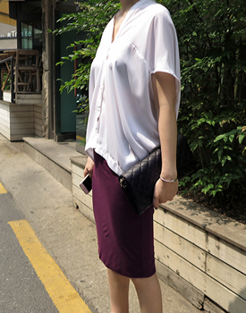[The day of shipment; dugyeop slim skirt Planning Special Sale