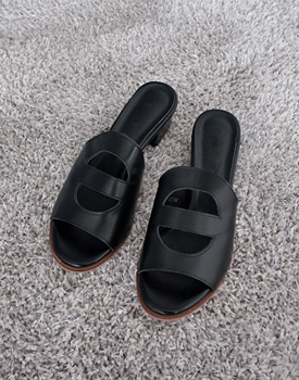 H - leather mules
