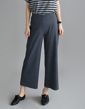 [Shipped the same day] Banding Time Wide pants - 2c