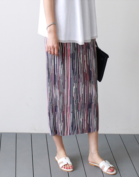 Dime Pleats Skirt - 2cColor It is luxurious and beautiful ~