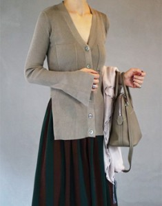 Ron Corrugated Cardigan - 3c
