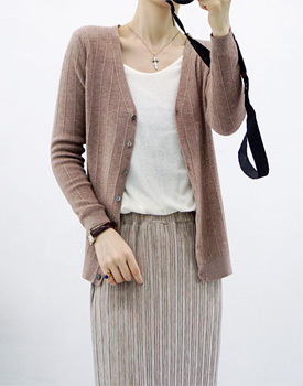 Knit Cardigan - 3c