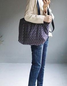 JACQUARD padding bag