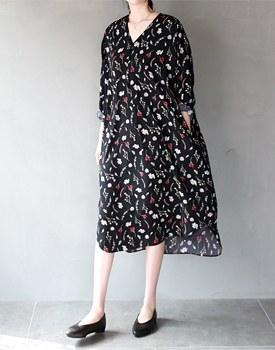 Lana flower onepiece dress