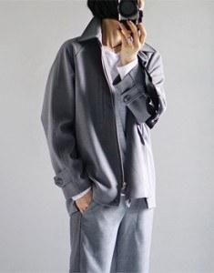 Clear jacket