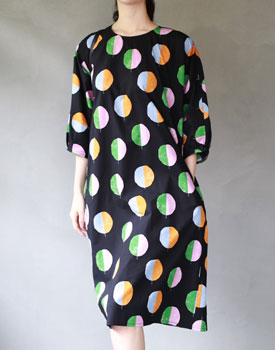 Comme textile printing onepiece