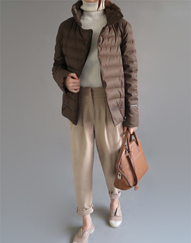 Jaden goose jacket - brown