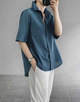 Infinite linen shirt - 2c