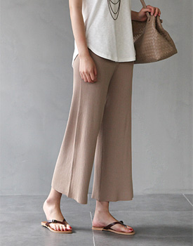Beni Gorge knit pants - 2c