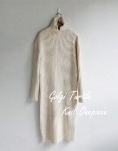 Golgi Turtle Knit Onepiece - 2c