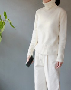 Rising pullover turtle knit - 3c