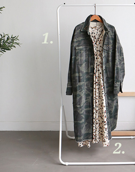 Coverin Camouflage Field Jacket Coat