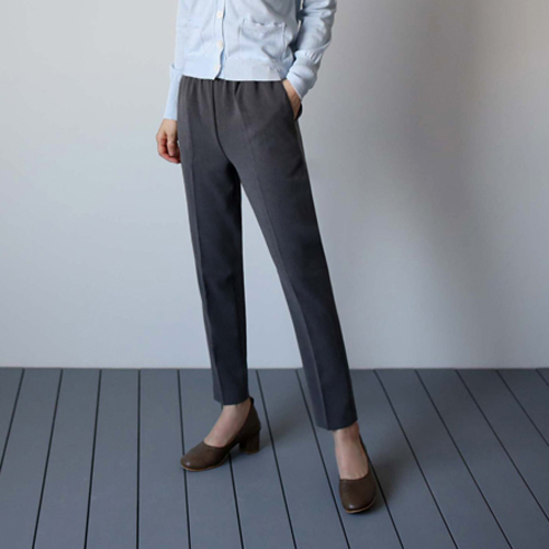 Joan band slacks - grey
