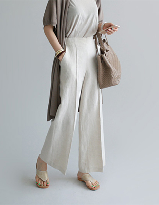 Colette linen pants - 2c It is high quality material ~