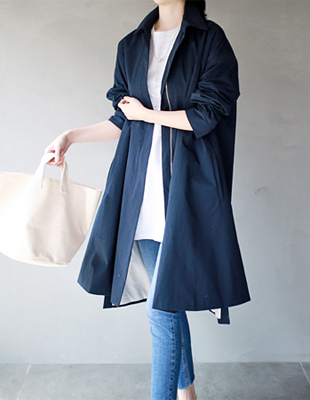 Quad trench coat