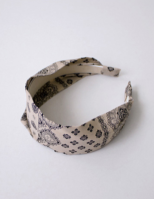 Paisley hairband