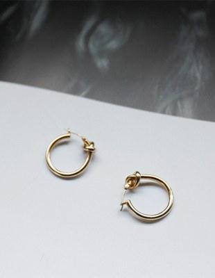 Cell twist earring