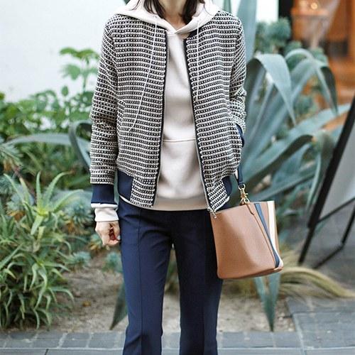 Silver Tweed Jackets