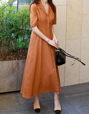 Abel linen dress