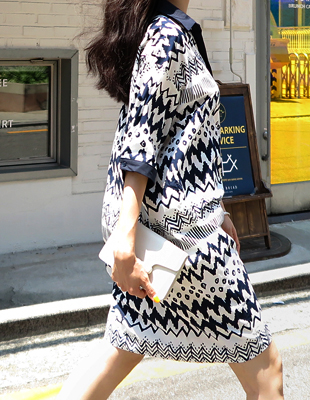 Marlon Print Dress
