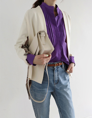 March tuck shirt - 2c