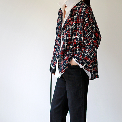 Gu. Tweed cardigan jacket - 2c