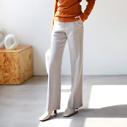 Bootcut Semi Pants - 2c