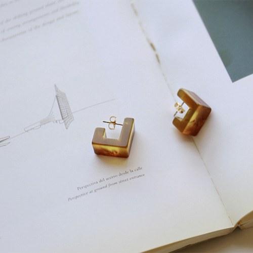 Brownie earrings