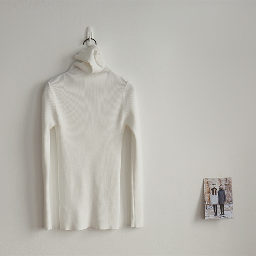 Soft turtleneck  -  5 colors / warm and soft