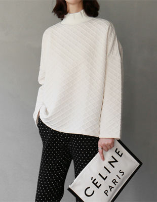 Hughes knit neck - 3c