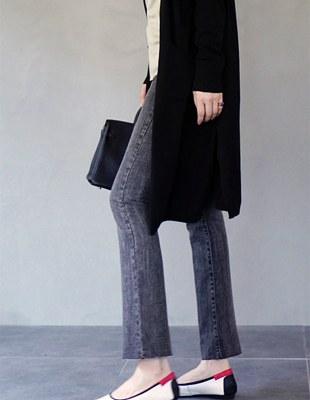 Vane gray cutting jean