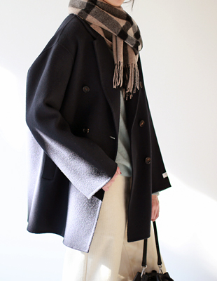 kate handmade half coat - 2c