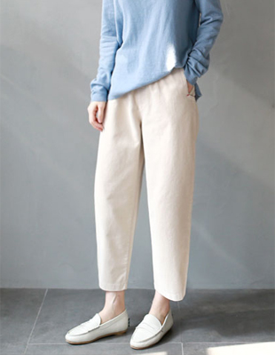 Baggy corduroy pants - 3c