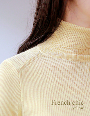 have ribbed turtleneck - 4c