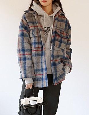 Ale Check Shirt Style Jacket - 2c