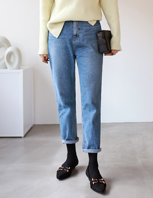 Lars brushed denim