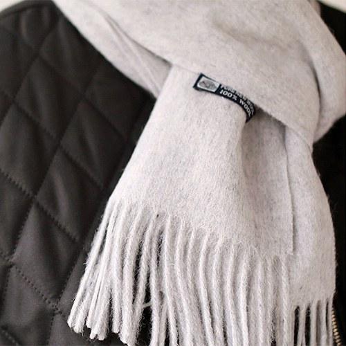 Basic Virgin Wool Muffler - 5c