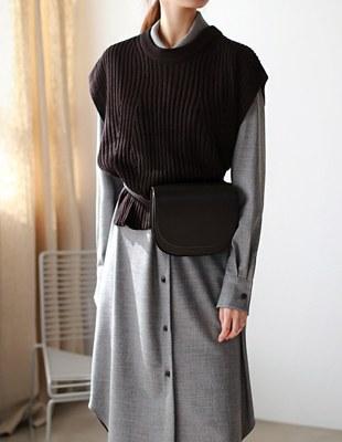 Wellington knit vest