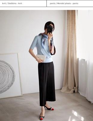 Mendel pleats-pants