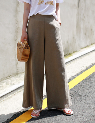 harry linen wide pants