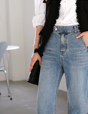 rag denim pants