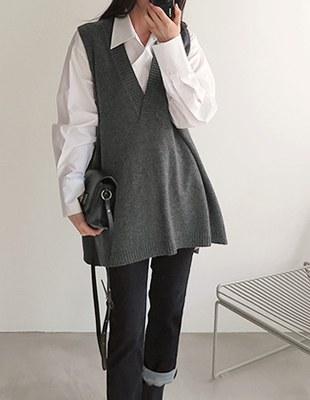 Sander Knit Vest - 3c