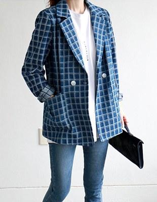 Square Denim Jacket
