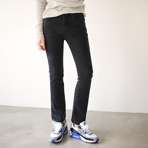 Boot cut Wool Black jeans
