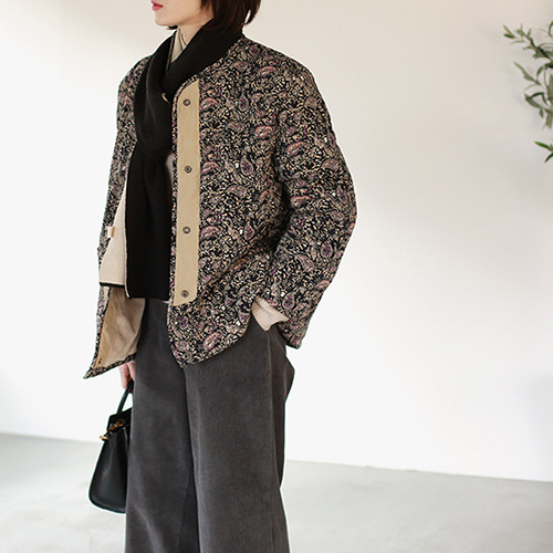 Print padding jacket