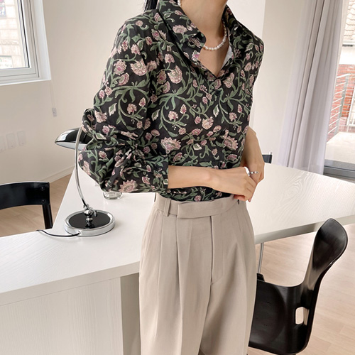Zenith Flower Shirt